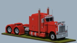 Minecraft Giant Peterbilt 379 EXHD Minecraft Map & Project