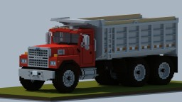 Minecraft Giant Ford LTL9000 Dump Truck Minecraft