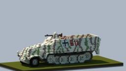 Minecraft Giant Sd.Kfz. 251