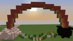 Leprechaun's pot of Gold Minecraft Map & Project