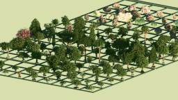 Final Release of Spanish Complex Repository ( 107 Plants, 45 Rocks ) Minecraft Map & Project