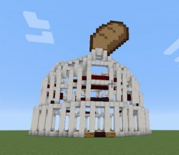 Tiffy and Peach's Bread Slapping Arena Minecraft Map & Project
