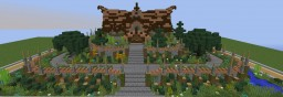 Small wooden Server Spawn [GREAT SPAWN!] Minecraft Project