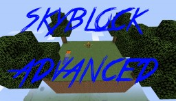 Skyblock Advanced Minecraft Map & Project