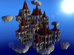 SkyCastle by CybiDuck (Free on request) Minecraft Map & Project
