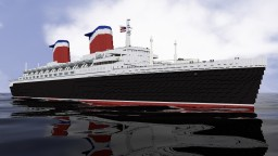 "SS UNITED STATES ""THE BIG U"" Minecraft Map & Project"