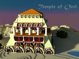 Temple of Oerl Minecraft Map & Project