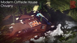 Modern Cliffside House | Showcase Minecraft