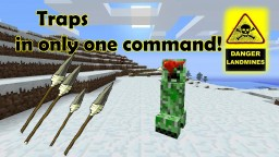 Traps in one command! #OneCommand #Kuzkay Minecraft Map & Project