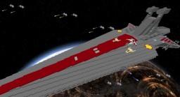 """Star Wars""""Venator-class Star Destroyer"""" in Minecraft + Download Minecraft Map & Project"""