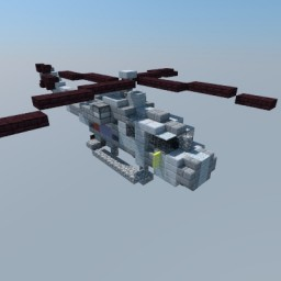 Westland Lynx - British Helicopter Minecraft Map & Project
