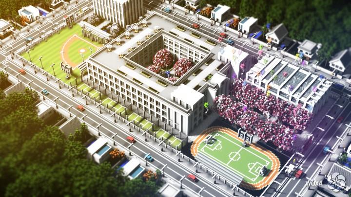Yandere Simulator Enhanced School Rp Minecraft Project