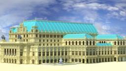 Vienna State Opera (Wiener Staatsoper) Minecraft Project