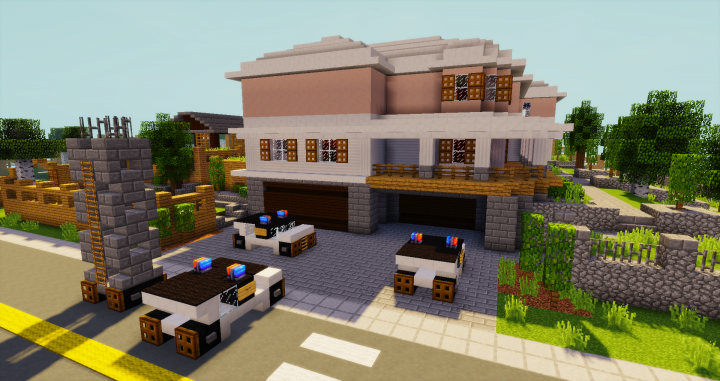 Rainbow Six Siege House Map Minecraft Project