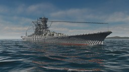 IJN Battleship Yamato Minecraft Map & Project