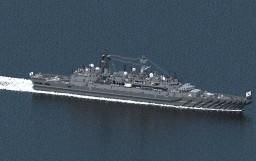 [AU] Tsubaki-class Frigate  Type B (Otsu) Kaede-class Minecraft Project
