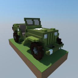 1945 Ford GPW Minecraft Map & Project