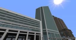 Replica: Duke Energy Center, Charlotte, North Carolina, USA. Minecraft Map & Project