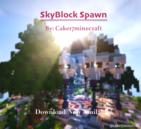 Skyblock Spawn/Hub [+Download] Minecraft Project