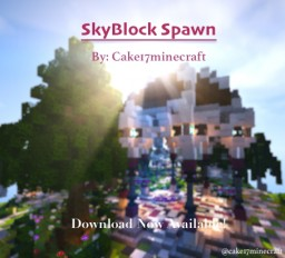 Skyblock Spawn/Hub [+Download] Minecraft Map & Project