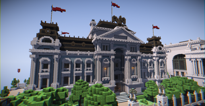 Server History Museum Minecraft Project