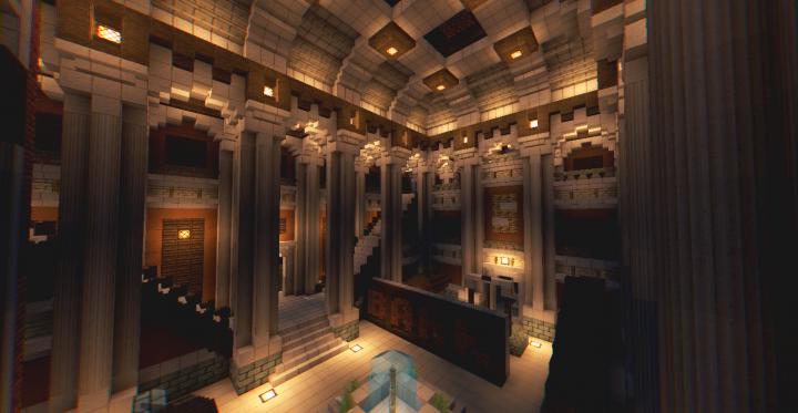 Server History Museum Minecraft Project