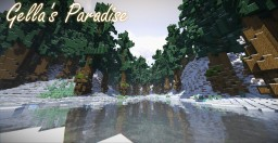 [Test Map] - Gella's Paradise (Survival Map) Minecraft Map & Project