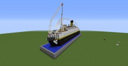 S.S. Nomadic - Tender of RMS Olympic and Titanic [1:1 Scale, Download] Minecraft Map & Project