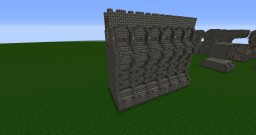 medieval/dwarven wall and tower tileset extention Minecraft Map & Project