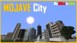MOJAVE City Minecraft Map & Project
