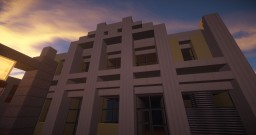 [My First Build] Art Deco Apartments on Greenfield! Minecraft Map & Project