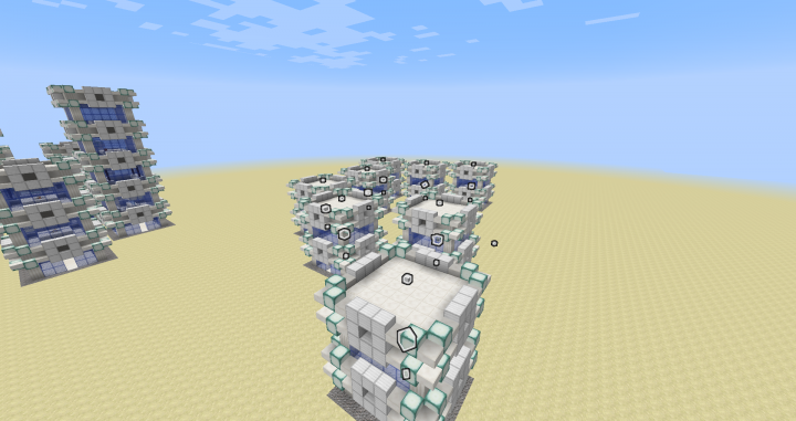 The process of generating a city.