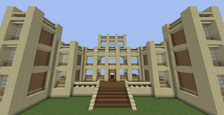 The Front of Wayne Manor
