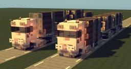 Scandinavian Timber trucks Minecraft Map & Project