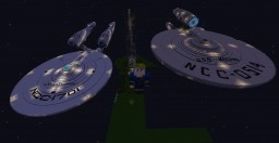(OLD) My Creative World with Star Trek Ships Minecraft