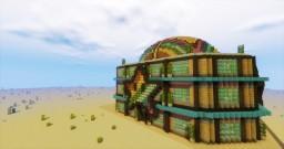 Starfish Spleef Arena Minecraft
