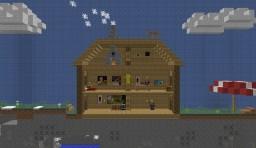 Metroid Vania - Proof of Concept Minecraft