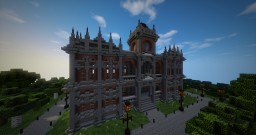 Small Victorian/Imperial Town Hall Minecraft Map & Project