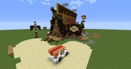 Mystery Shack - Gravity Falls Minecraft Project