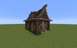 Small Medieval Town House Minecraft Map & Project