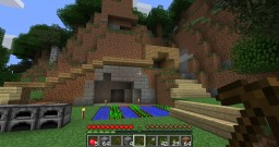multi extension villa begginning build. Minecraft Map & Project