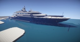 Al Mirqab - Superyacht Minecraft Map & Project