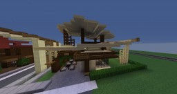 Cafe [SCHEMATIC] Minecraft Map & Project