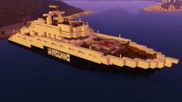 Basic luxury yacht Minecraft Map & Project