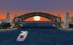 Sydney Harbour Bridge Minecraft Map & Project
