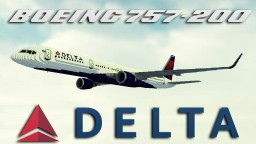 'Giant' 7:1 Delta Airlines Boeing 757-200 [+Download] Minecraft Project