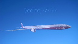 Boeing 777-9x Minecraft Map & Project