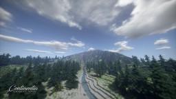 4k Realistic terrain : Continentia Minecraft Map & Project