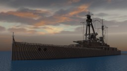 SMS Derfflinger (1913) 4:1 Scale Minecraft Map & Project