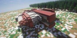 Ebon Hawk - KOTOR Minecraft Map & Project